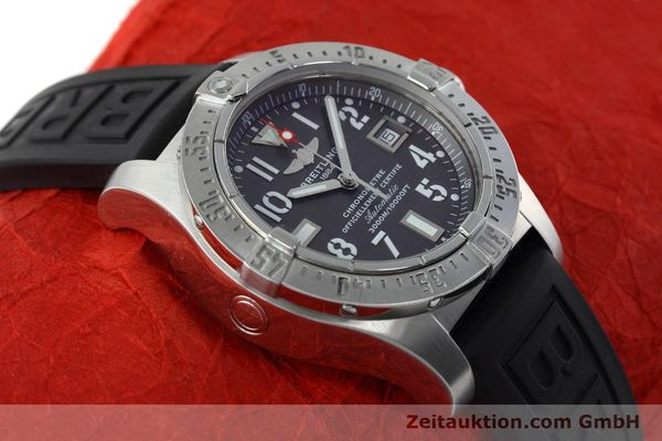Used luxury watch Breitling Avenger Seawolf steel automatic Kal. B17 ETA 2824-2 Ref. A17330  | 152486 17