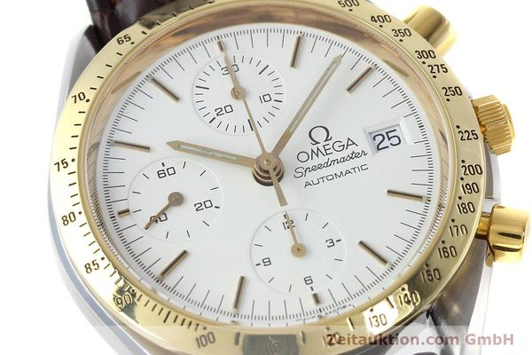 Used luxury watch Omega Speedmaster chronograph steel / gold automatic Kal. 1155 ETA 7750 Ref. 175.0043, 375.0043  | 152489 02