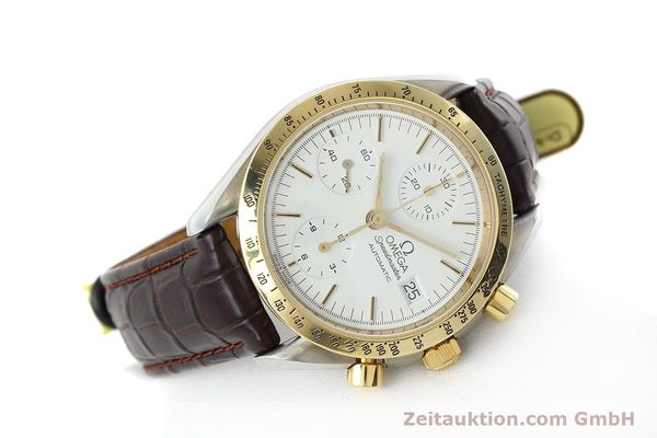 Used luxury watch Omega Speedmaster chronograph steel / gold automatic Kal. 1155 ETA 7750 Ref. 175.0043, 375.0043  | 152489 03