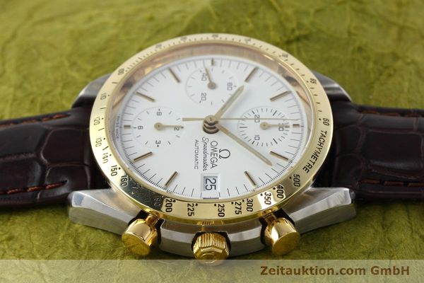 Used luxury watch Omega Speedmaster chronograph steel / gold automatic Kal. 1155 ETA 7750 Ref. 175.0043, 375.0043  | 152489 05