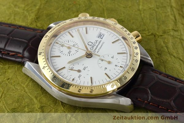 Used luxury watch Omega Speedmaster chronograph steel / gold automatic Kal. 1155 ETA 7750 Ref. 175.0043, 375.0043  | 152489 14