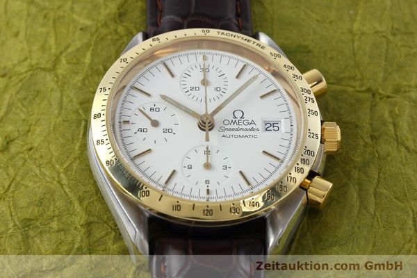 Used luxury watch Omega Speedmaster chronograph steel / gold automatic Kal. 1155 ETA 7750 Ref. 175.0043, 375.0043  | 152489 15