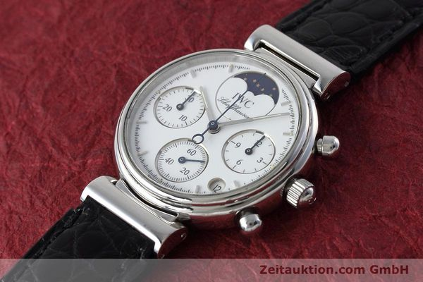 Used luxury watch IWC Portofino chronograph steel quartz Kal. 630 Ref. 3735  | 152490 01