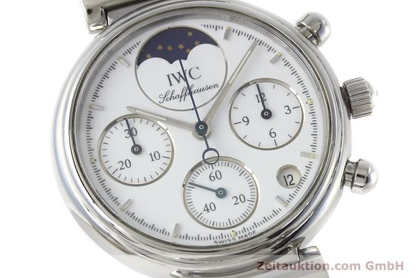 Used luxury watch IWC Portofino chronograph steel quartz Kal. 630 Ref. 3735  | 152490 02