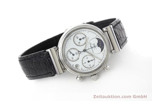 Used luxury watch IWC Portofino chronograph steel quartz Kal. 630 Ref. 3735  | 152490 03
