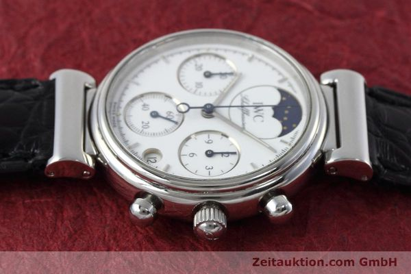 Used luxury watch IWC Portofino chronograph steel quartz Kal. 630 Ref. 3735  | 152490 05