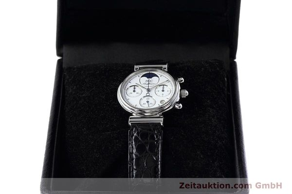Used luxury watch IWC Portofino chronograph steel quartz Kal. 630 Ref. 3735  | 152490 07