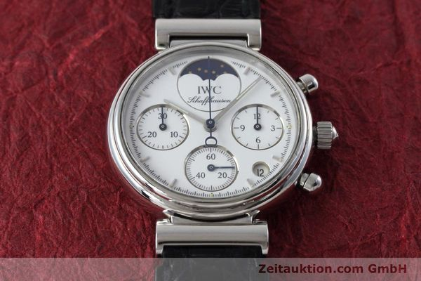 Used luxury watch IWC Portofino chronograph steel quartz Kal. 630 Ref. 3735  | 152490 15