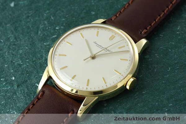 Used luxury watch IWC Portofino 18 ct gold manual winding Kal. 89 VINTAGE  | 152492 01