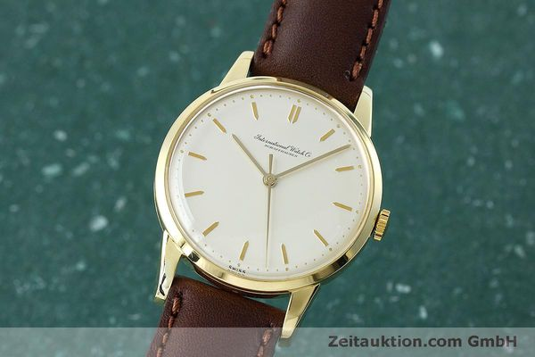 Used luxury watch IWC Portofino 18 ct gold manual winding Kal. 89 VINTAGE  | 152492 04