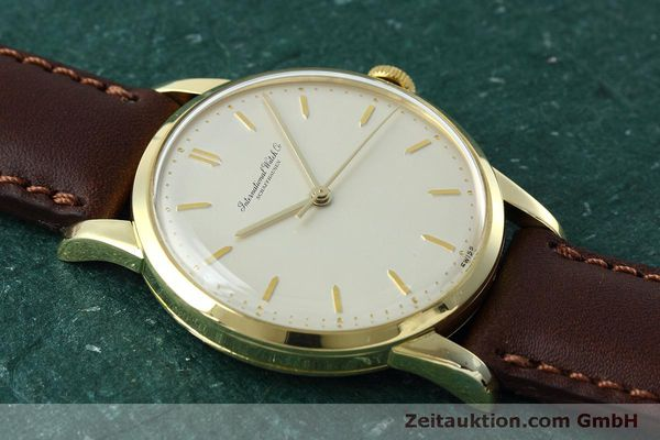 Used luxury watch IWC Portofino 18 ct gold manual winding Kal. 89 VINTAGE  | 152492 14