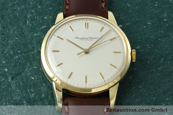 Used luxury watch IWC Portofino 18 ct gold manual winding Kal. 89 VINTAGE  | 152492 15