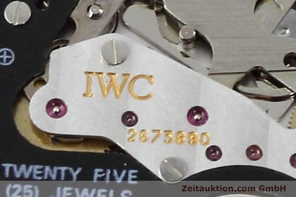 Used luxury watch IWC Fliegerchronograph chronograph steel quartz Kal. 630 Ref. 3741  | 152493 10