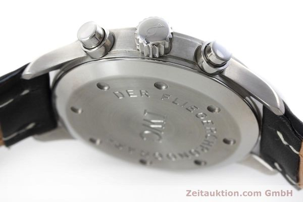 Used luxury watch IWC Fliegerchronograph chronograph steel quartz Kal. 630 Ref. 3741  | 152493 11