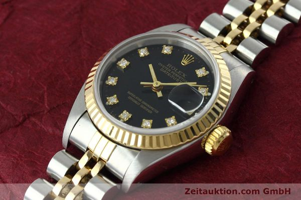 Used luxury watch Rolex Lady Datejust steel / gold automatic Kal. 2135 Ref. 69173  | 152502 01