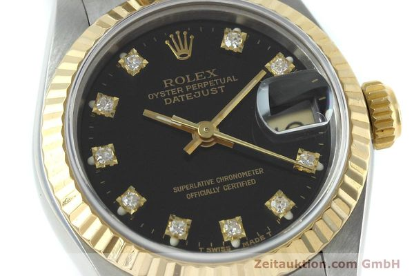 Used luxury watch Rolex Lady Datejust steel / gold automatic Kal. 2135 Ref. 69173  | 152502 02