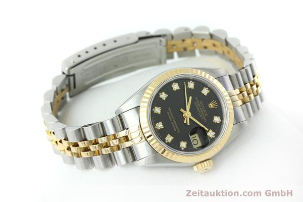 Used luxury watch Rolex Lady Datejust steel / gold automatic Kal. 2135 Ref. 69173  | 152502 03