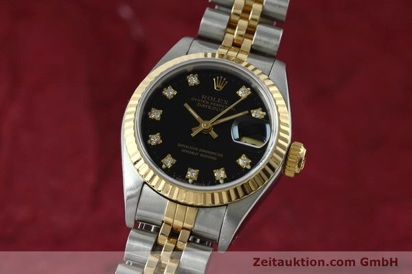Used luxury watch Rolex Lady Datejust steel / gold automatic Kal. 2135 Ref. 69173  | 152502 04