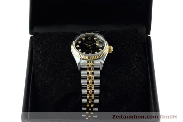 Used luxury watch Rolex Lady Datejust steel / gold automatic Kal. 2135 Ref. 69173  | 152502 07