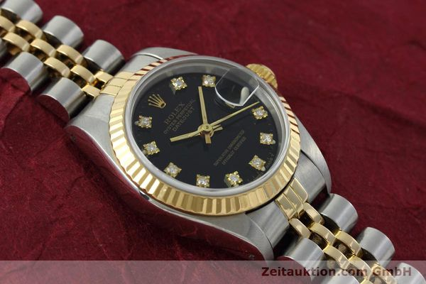 Used luxury watch Rolex Lady Datejust steel / gold automatic Kal. 2135 Ref. 69173  | 152502 14