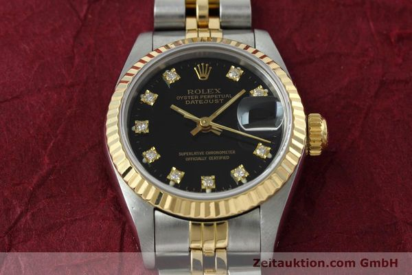 Used luxury watch Rolex Lady Datejust steel / gold automatic Kal. 2135 Ref. 69173  | 152502 15