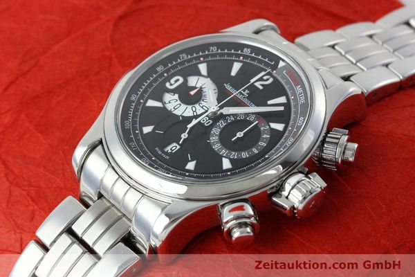 Used luxury watch Jaeger Le Coultre Master Compressor chronograph steel automatic Kal. 751 Ref. 146.8.25  | 152503 01