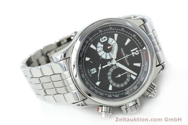 Used luxury watch Jaeger Le Coultre Master Compressor chronograph steel automatic Kal. 751 Ref. 146.8.25  | 152503 03