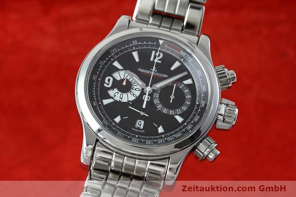 Used luxury watch Jaeger Le Coultre Master Compressor chronograph steel automatic Kal. 751 Ref. 146.8.25  | 152503 04
