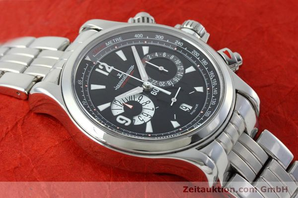 Used luxury watch Jaeger Le Coultre Master Compressor chronograph steel automatic Kal. 751 Ref. 146.8.25  | 152503 14