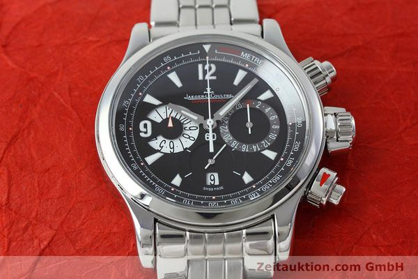 Used luxury watch Jaeger Le Coultre Master Compressor chronograph steel automatic Kal. 751 Ref. 146.8.25  | 152503 15