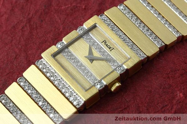 Used luxury watch Piaget Polo 18 ct gold quartz Kal. 8P1 Ref. 8131C705  | 152507 01