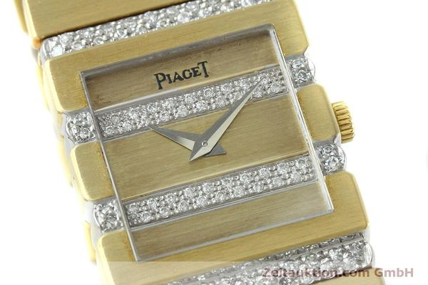 Used luxury watch Piaget Polo 18 ct gold quartz Kal. 8P1 Ref. 8131C705  | 152507 02