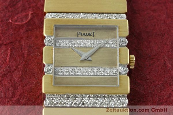Used luxury watch Piaget Polo 18 ct gold quartz Kal. 8P1 Ref. 8131C705  | 152507 15
