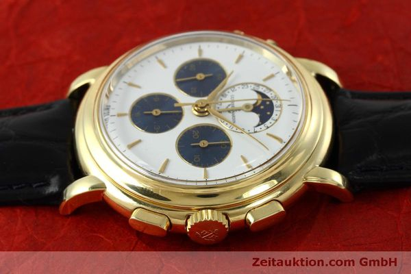 Used luxury watch Ulysse Nardin * chronograph 18 ct gold manual winding Kal. LWO 2612  | 152508 05