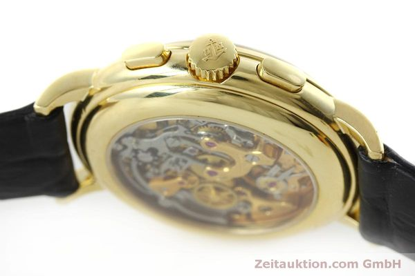 Used luxury watch Ulysse Nardin * chronograph 18 ct gold manual winding Kal. LWO 2612  | 152508 08