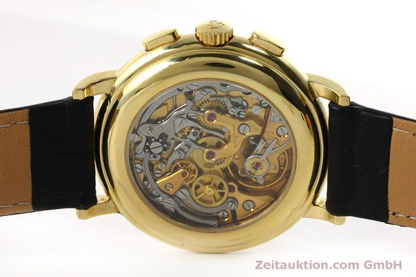Used luxury watch Ulysse Nardin * chronograph 18 ct gold manual winding Kal. LWO 2612  | 152508 09