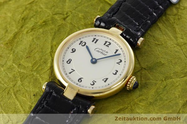 Used luxury watch Cartier Vermeil silver-gilt quartz Kal. 90  | 152510 01