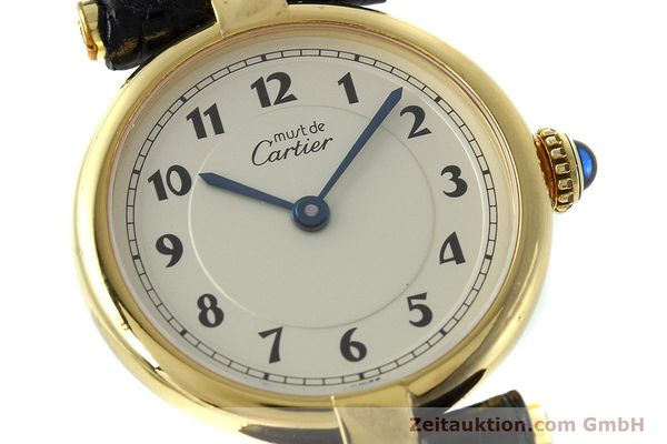 Used luxury watch Cartier Vermeil silver-gilt quartz Kal. 90  | 152510 02
