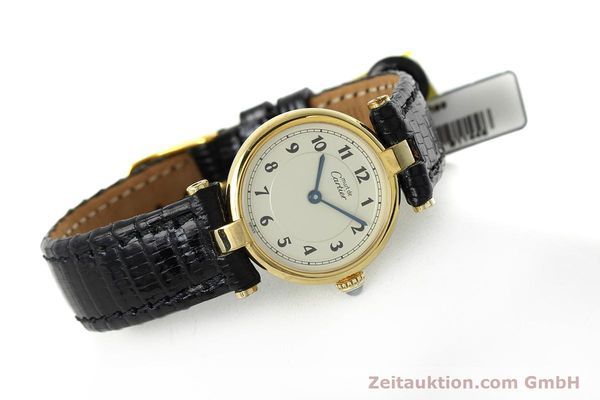 Used luxury watch Cartier Vermeil silver-gilt quartz Kal. 90  | 152510 03