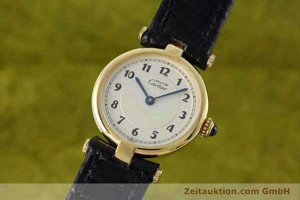Used luxury watch Cartier Vermeil silver-gilt quartz Kal. 90  | 152510 04