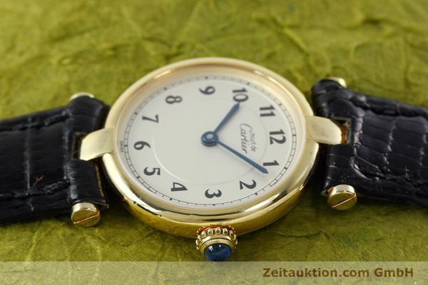 Used luxury watch Cartier Vermeil silver-gilt quartz Kal. 90  | 152510 05