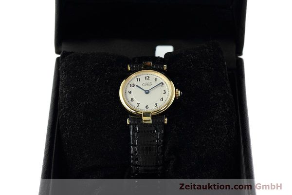 Used luxury watch Cartier Vermeil silver-gilt quartz Kal. 90  | 152510 07