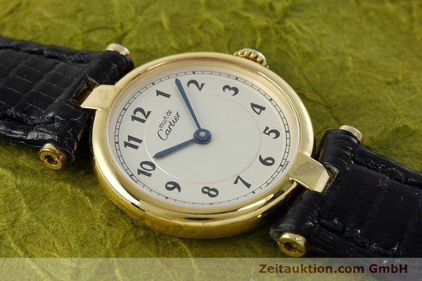 Used luxury watch Cartier Vermeil silver-gilt quartz Kal. 90  | 152510 11