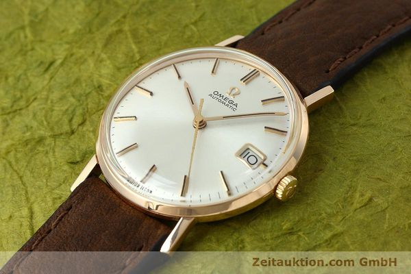 gebrauchte Luxusuhr Omega * 18k Rotgold Automatik Kal. 562  | 152513 01