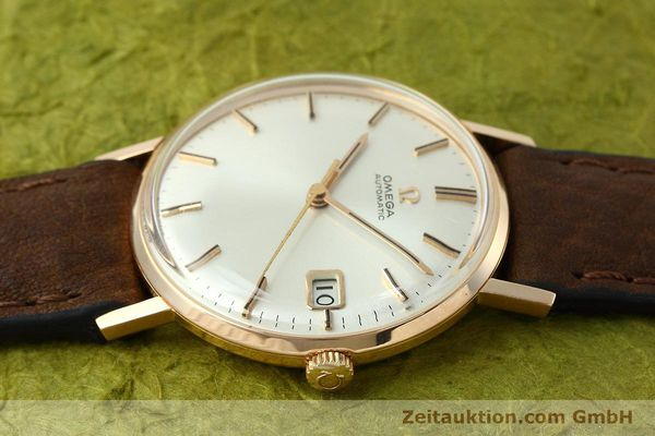 Used luxury watch Omega * 18 ct red gold automatic Kal. 562  | 152513 05