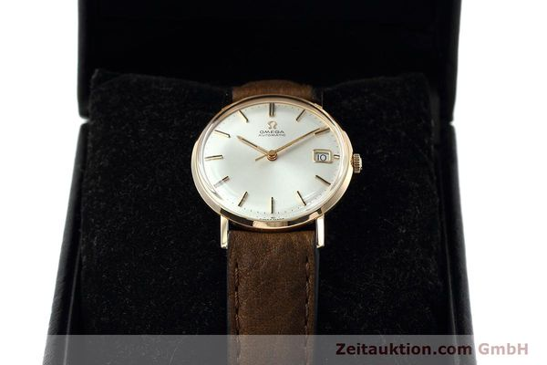 gebrauchte Luxusuhr Omega * 18k Rotgold Automatik Kal. 562  | 152513 07