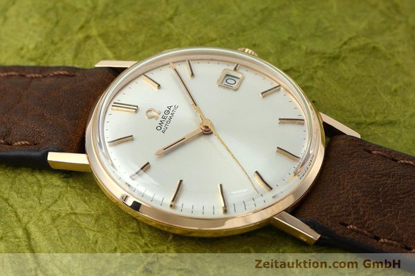 gebrauchte Luxusuhr Omega * 18k Rotgold Automatik Kal. 562  | 152513 13