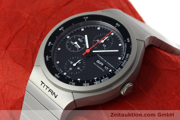 Used luxury watch Porsche Design Heritage chronograph titanium automatic Kal. ETA 7750 Ref. P6530  | 152520 01