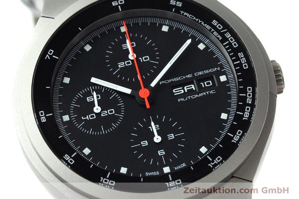 Used luxury watch Porsche Design Heritage chronograph titanium automatic Kal. ETA 7750 Ref. P6530  | 152520 02