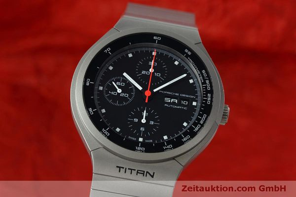 Used luxury watch Porsche Design Heritage chronograph titanium automatic Kal. ETA 7750 Ref. P6530  | 152520 04